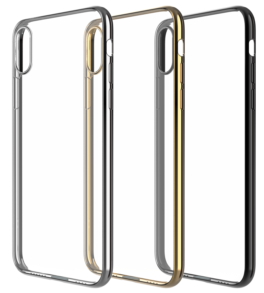 iPhone-XS-Max-XR-XS-X-Case-Genuine-DEVIA-Chrome-Case-Soft-Gel-Cover-for-Apple thumbnail 13