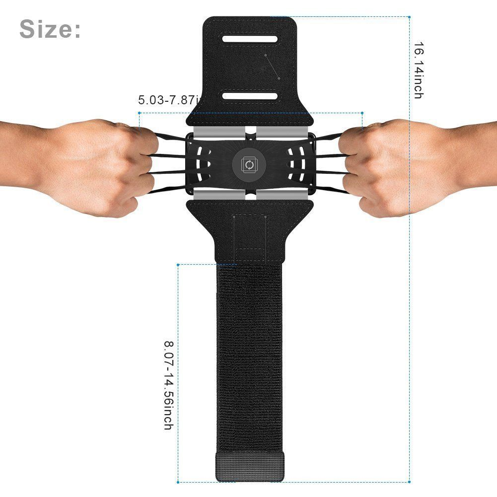 Genuine-VUP-Universal-Running-Jogging-Gym-Armband-Holder-For-iPhone-XS-Max-XR thumbnail 15