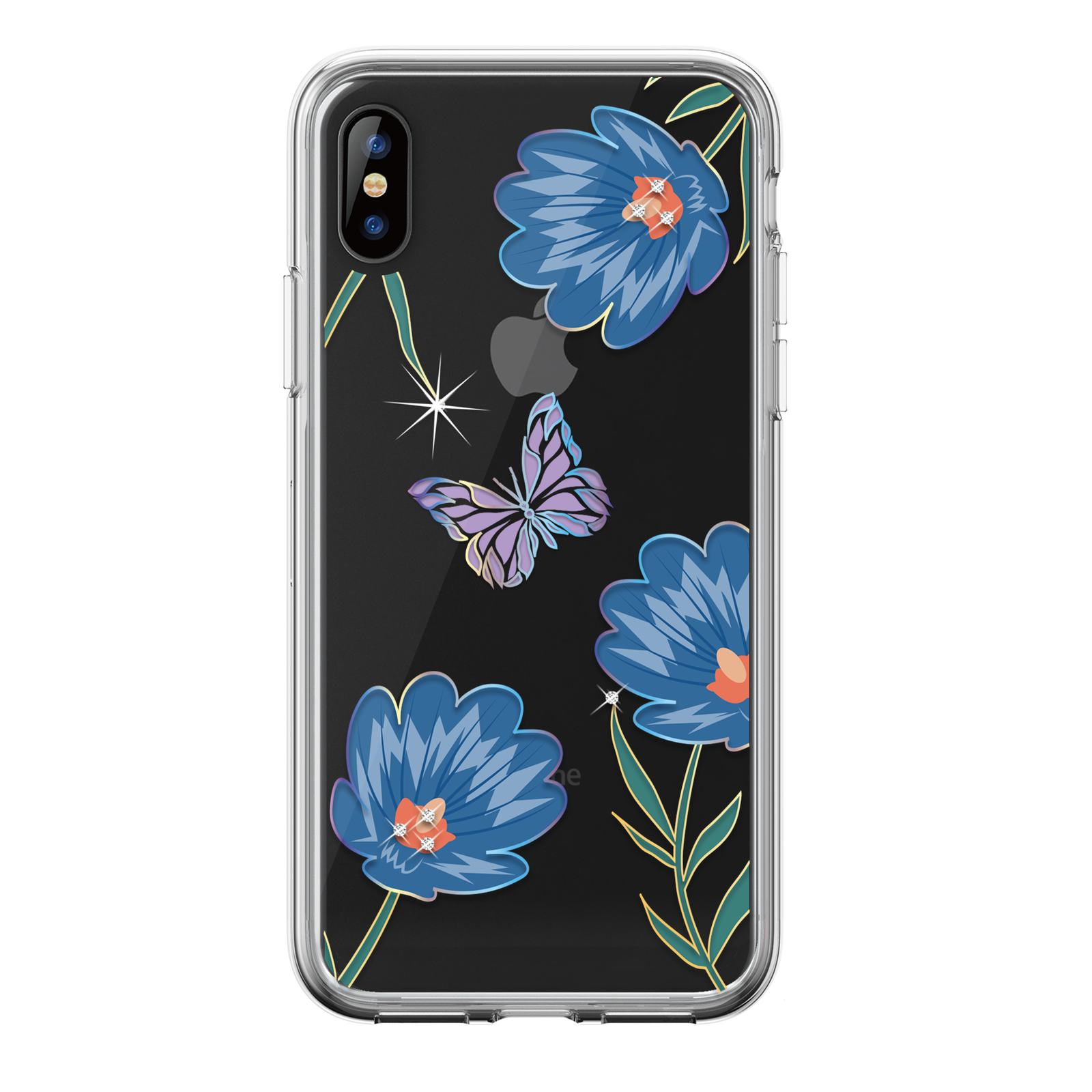 iPhone-XS-Max-XR-XS-X-Genuine-DEVIA-Flower-Gel-Case-Shockproof-Soft-TPU-Cover thumbnail 16